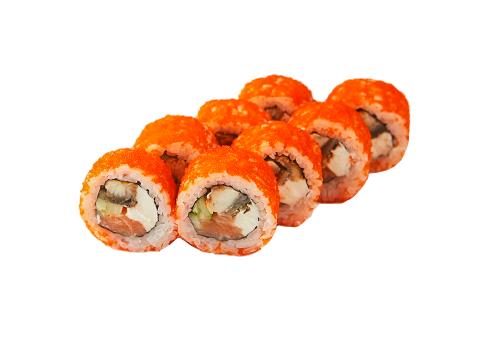 Сливочный лосось-угорь