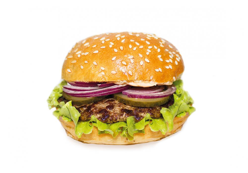 Промонабор Гамбургер + Фри 100 гр.+соус
